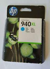 Genuine Unused Original & Sealed HP 940 XL Ink Cartridge Set - Cyan C4907AE