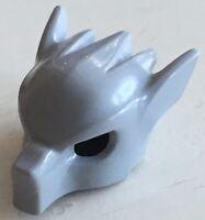 30x Lego Chima Wolfsmaske / Helm in grau, Neu