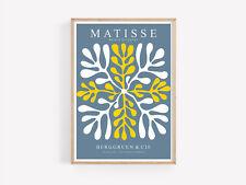 Henri Matisse Decor  Poster Picture the cutouts Colourful Art Prints A2 A3 A4 A5