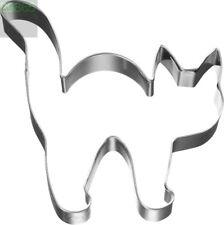 Katze mit Buckel 8 cm  Ausstecher Keksausstecher Ausstechform Halloween Edelstah