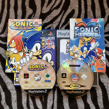 SONIC HEROES + MEGA COLLECTION PLUS (2002-03) | PS2 VGC | **FREE NEXT DAY POST**