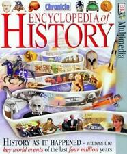 Chronicle Encyclopedia of History CD-ROM  win  1997 by DK Publishing 0789417340