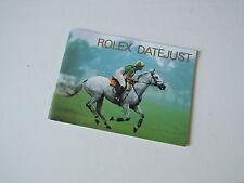 ♛ Authentic ROLEX ♛ Vintage 1997 Datejust Watch Manuals & Guides Booklet