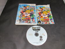 Nintendo Wii Game Dragon Ball Z Budokai BUDOUKAI 2 en Caja Con Manual