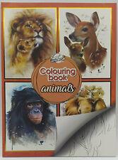 Malbuch Tiere für Erwachsene 20 ...