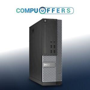 Custom Dell Optiplex Desktop PC Computer SFF Intel i3 16GB RAM 1TB HD Win 10 SSD
