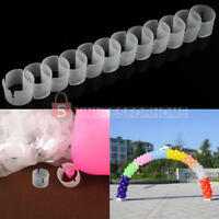 50Pcs Decorative Balloon Arch Buckle Ring Clip DIY Kit Connect Ring WKL
