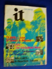 International Times IT 131 UK Underground newspaper for  July 1972. FN+.