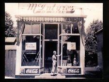 Ice Cream real photo postcard RPPC Mc Intyre's Ice Cream shop #1205