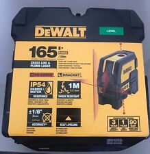 Dewalt DW0822 Leveling Cross Line and Plumb Spots Laser Level Replaces DW088 NEW