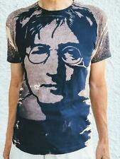 "JOHN LENNON BEATLES BLUE  SHORT SLEEVE MUSIC T SHIRT 1 X LARGE 40""  LAST ONE"