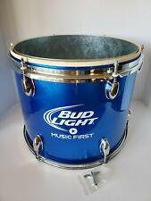 """Bud Light """"Music First"""" Blue Drum Ice Chest Bucket Cooler - Budweiser - New"""
