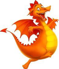 Dragon Cartoon Sticker Etiqueta de vinilo gráfico Etiqueta V1
