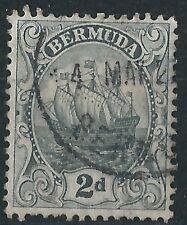 k003) Bermuda. 1910/25. SG 47 2d Grey. Definitive. Ships/Boats. c£19+