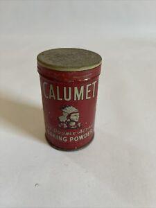 Vintage Calumet Baking Powder Tin, Very Nice!