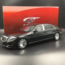 Resin Car Model GT Spirit Mercedes-Benz Maybach S600 (Black) 1:18 + GIFT
