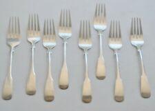 """International Sterling Silver 1810 Salad Forks 6 1/4"""" Set of 8 No Monogram"""