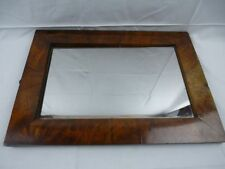 Biedermeier Spiegel in Mahagoni ~ Größe: 55,5 cm x 39 cm