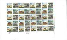 1989 25c sheet of 40 Dinosaurs /Stamposaurus USPS Stamps MNH FV$10