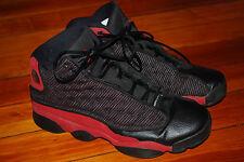 Nike Air Jordan XIII 13 Retro Black/Varsity Red (7Y) Bred 414574-010
