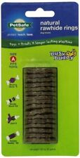 Dog Treats Ring Toys Refill Busy Buddy Natural Rawhide PetSafe Gnawhide Bristle