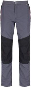 Regatta Sungari Stretch Mens Walking Trousers Grey Hiking Pants 38 Waist