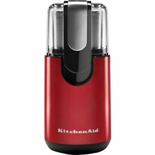 Kitchenaid bcg 111ER Empire Red Blade Coffee Grinder Stainless