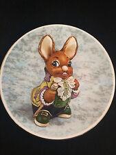 "PenDelfin Ltd ""Father"" Jean Heap Rabbit Plate NIB COA"