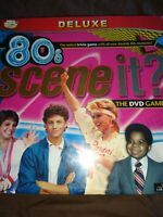 Scene it ? 80's The DVD Game Deluxe (2009) NEW ! Still in cellophane