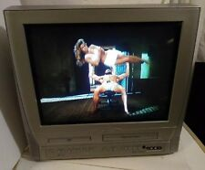 "Magnavox 20MC4304/17 20"" CRT TV/DVD/VCR/Retro Gaming Combo Television no remote"