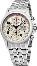 Revue Thommen Men's Pilot Ivory Dial Stainless Steel Automatic Watch 17081.6138