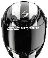 STICKER VISIERE CASQUE MOTO QUAD SPYDER CAN-AM CAN AM
