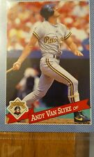 1993 Hostess Andy Van Slyke #1, Pittsburgh Pirates Card