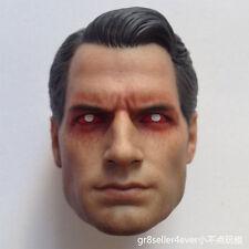 1/6 Scale Vein Henry Cavill Batman v Superman 2 Head Sculpt For Hot Toys Body