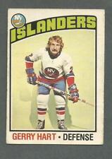 1976-77 OPC O-Pee-Chee Hockey Gerry Hart #77 New York Islanders *1