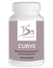IsoSensuals CURVE Butt & Curves Enhancement Pills Supplement, 60 Day Supply, New