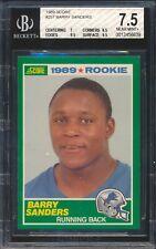 1989 Score 257 Barry Sanders RC Rookie BGS 7.5