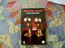 2012-13 MIAMI HEAT MEDIA GUIDE Yearbook 2013 NBA FINALS Program LEBRON  JAMES AD 32dcd8270