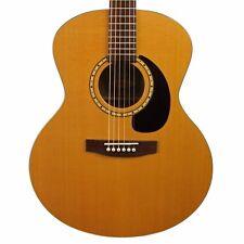2007 Simon & Patrick Woodland Mini Jumbo Acoustic Guitar Natural