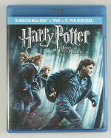 "PRL) BLU-RAY DISC ""HARRY POTTER E I DONI DELLA MORTE - PARTE 1"" DVD FILM MOVIE"
