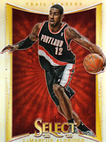 2012-13 Select Prizms #102 LaMarcus Aldridge - NM-MT