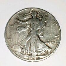 1942-D 50C Walking Liberty Half Dollar