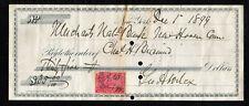 A057 - 1899 MERCHANTS NATIONAL BANK - NEW YORK