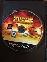 PLEASE READ Urban Chaos: Riot Response (Disc Only) Playstation 2 PS2