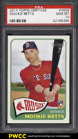 2014 Topps Heritage Mookie Betts ROOKIE RC #H558 PSA 10 GEM MINT (PWCC)