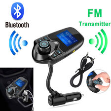Bluetooth Wireless Car AUX Stereo Audio Receiver Radio FM Adapter USB ChargerNEW