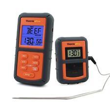 Barbecue Thermometer Funk Grillthermometer Bratenthermometer mit Timer für Ofen