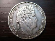 FRANCIA LOUIS PHILIPPE I - LUIS FELIPE I 5 FRANCS 1847 A
