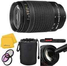 Nikon 70-300mm G Lens Kit With Lens Pouch,3 Piece Filter Kit, Lens Pen