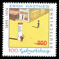 Germany 1999 - Birth of Erich Kästner, Writer Art - Sc 2028 MNH
